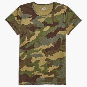 NWT J. Crew Camouflage Studio Tee Size XL